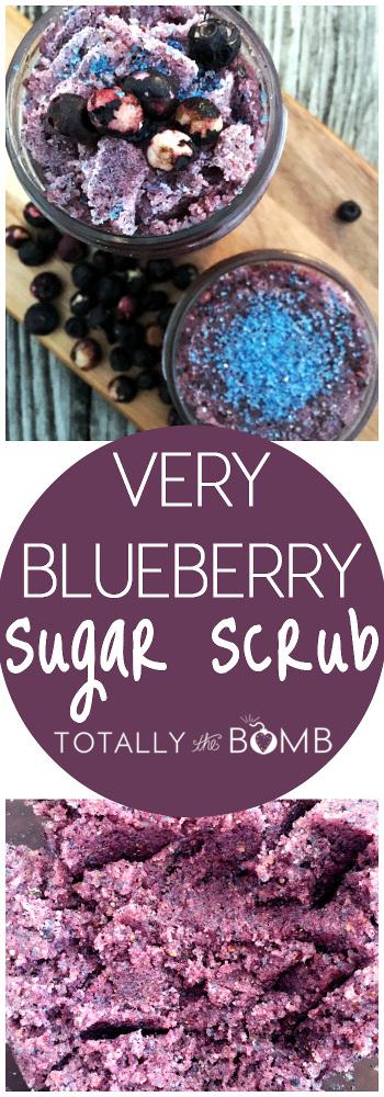 Very Blueberry Sugar Scrub