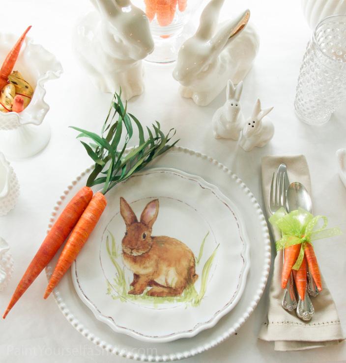 DIY Easter Decor Napkin Rings