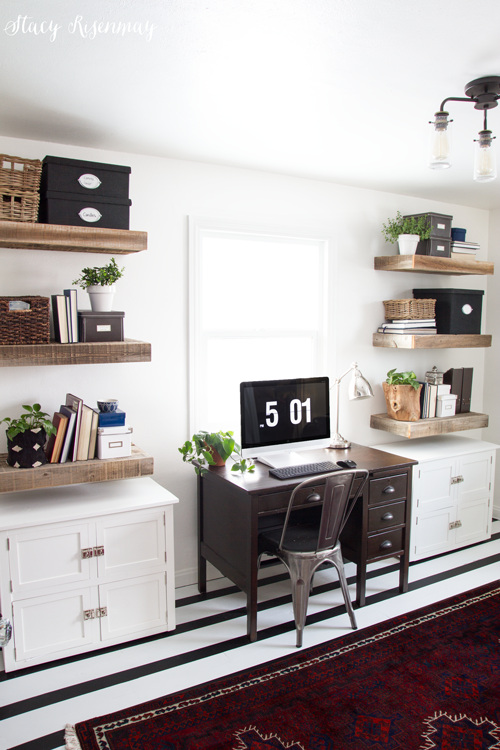 Small House Tour - Stylish Home Office
