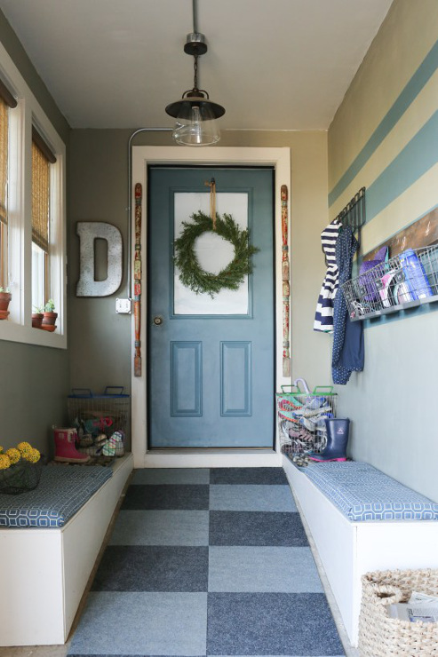Mudroom Reveal