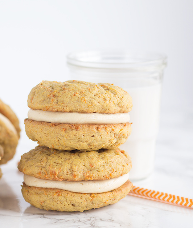 Peanut Butter Carrot Cake Whoopie Pies