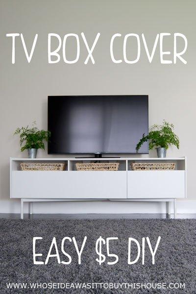 DIY TV Box Cover