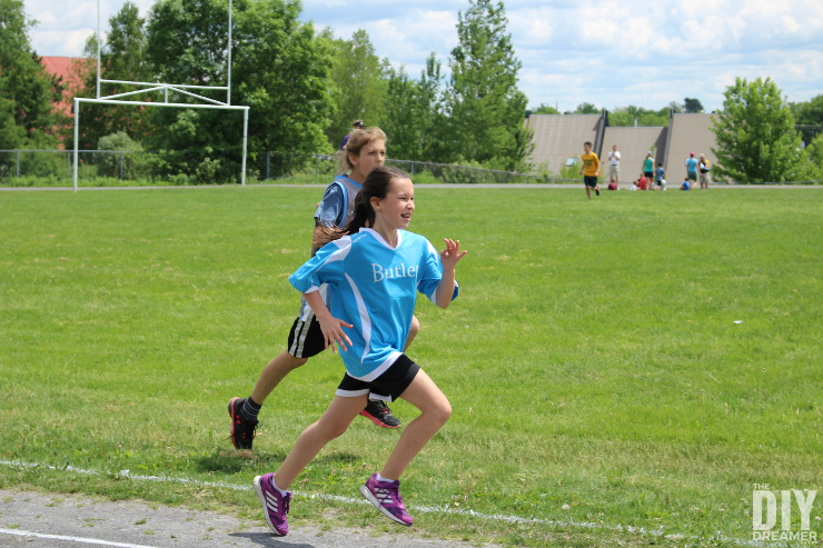 Track & Field - Running in 200m Race