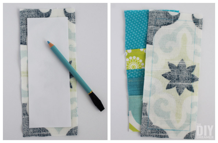 How to use a fabric pencil