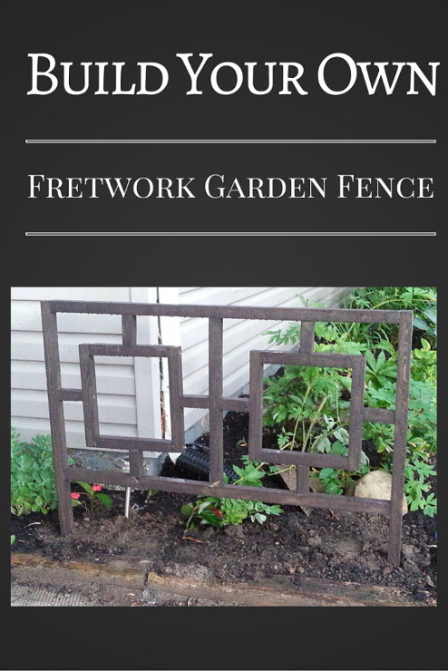 Fretwork Garden Fence
