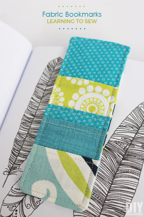 Learning how to sew? Awesome, I have a great tutorial for beginners. Let's learn how to sew fabric bookmarks! Check out this step by step tutorial.