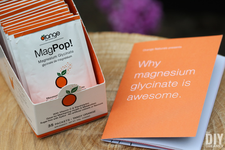 Orange Naturals MagPop! Magnesium supplement & effervescent drink