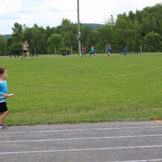 Track and field - Relay Race