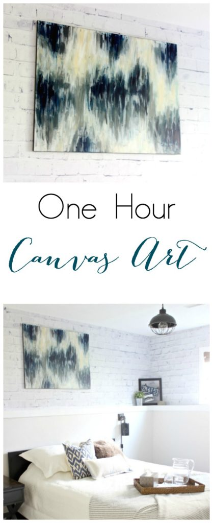 Make Beautiful Canvas Art in less than an hour