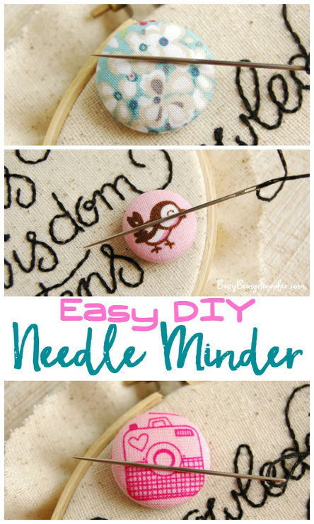 Easy DIY Needle Minder