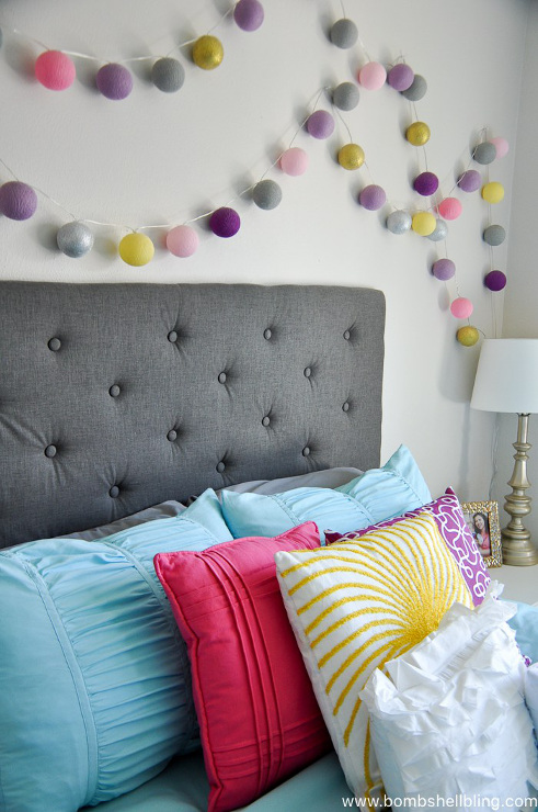 Colorful Master Bedroom Makeover