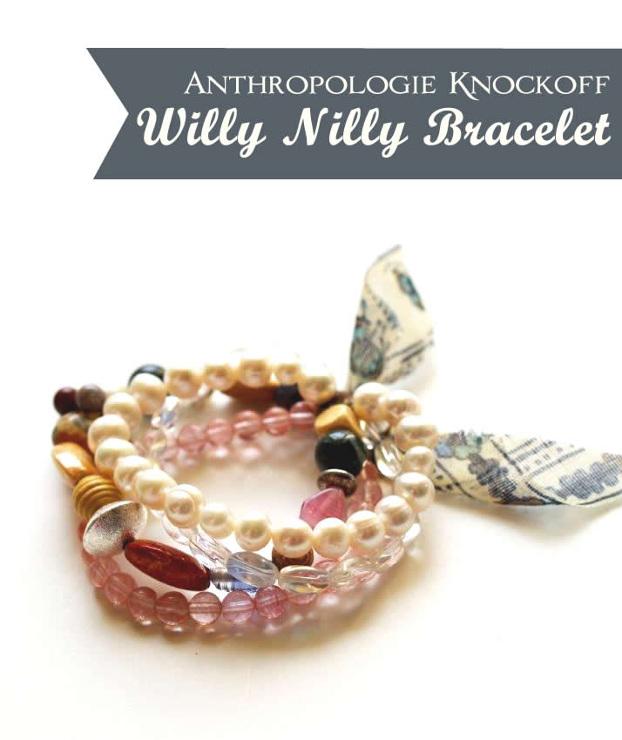 Willy Nilly Bracelet Tutorial