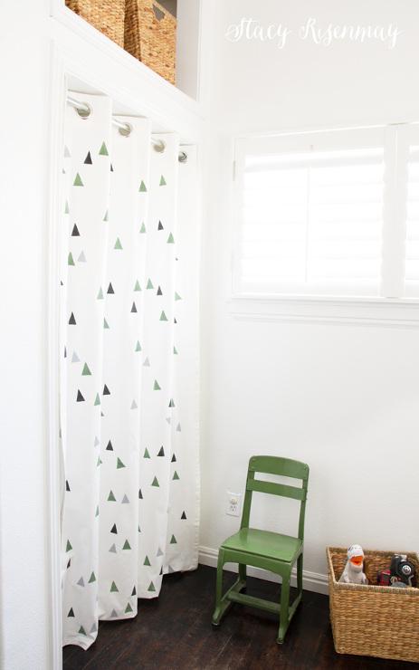 Custom Painted Curtains
