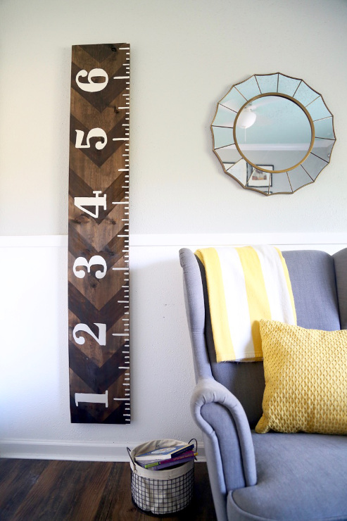 Growth Chart Wall Art