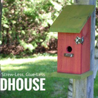 Building a Nail-Less, Screw-Less, Glue-Less Birdhouse
