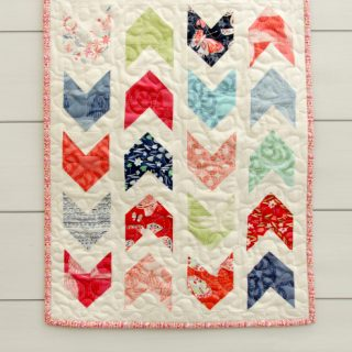 Pow Pow Mini Quilt