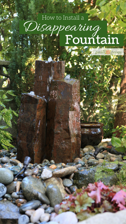 How to Install a Disappearing Fountain in Your Home Garden
