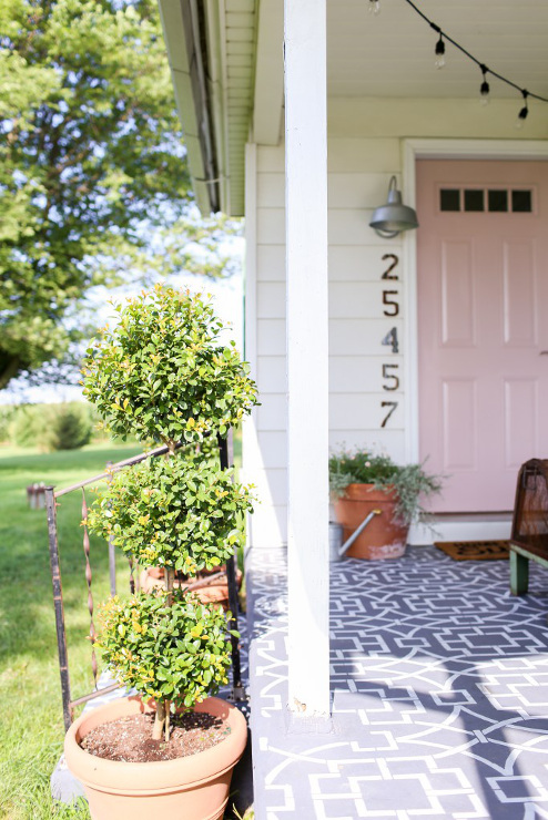 Farmhouse Front Porch Reveal