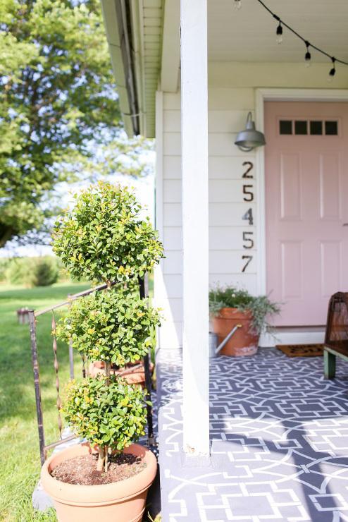 Farmhouse Front Porch Reveal