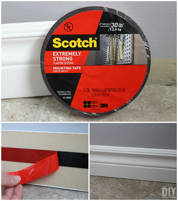 Quick Fixes: Install Baseboard Moulding