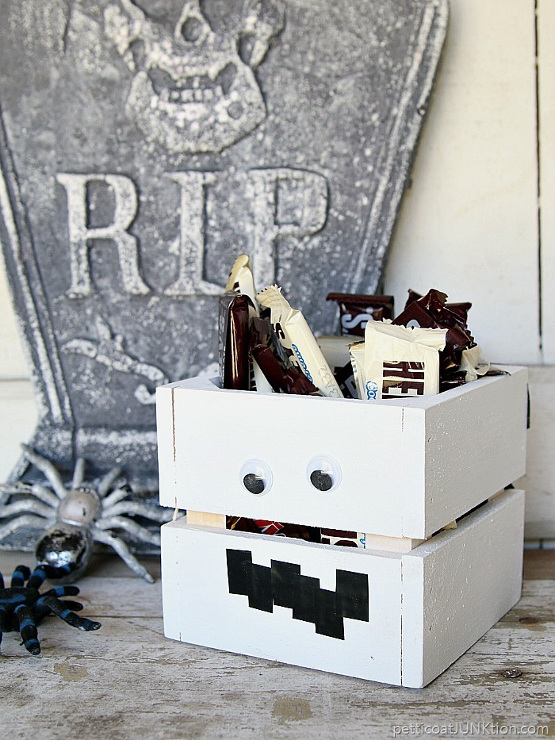 Mummies The Word For This DIY Candy Crate