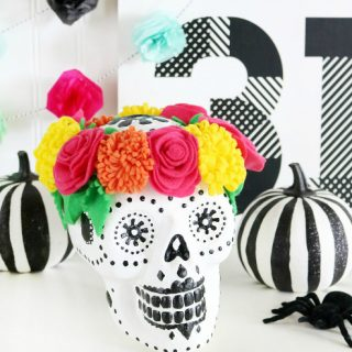 Sugar Skull Halloween Decor