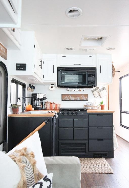Tiny Kitchen Remodel - RV Kitchen