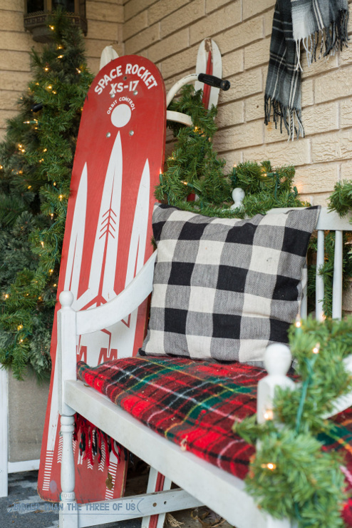 Decorating Your Front Porch For Christmas