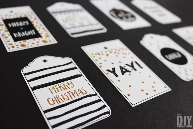 FREE PRINTABLE: Merry Christmas Printable Gift Tags