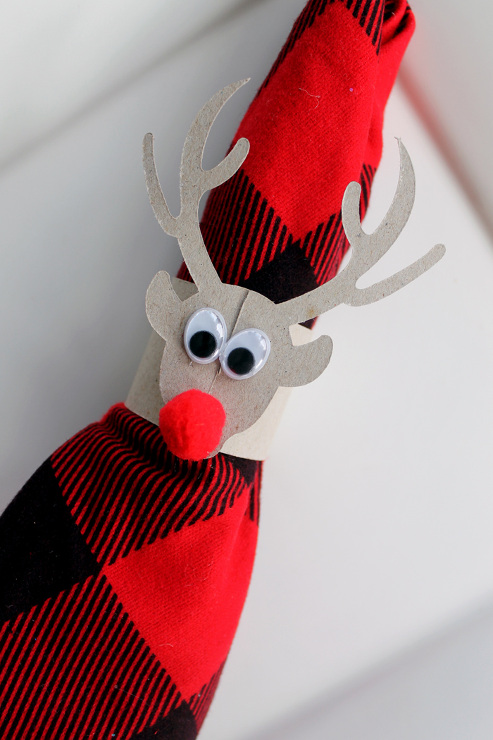 DIY Deer Napkin Rings