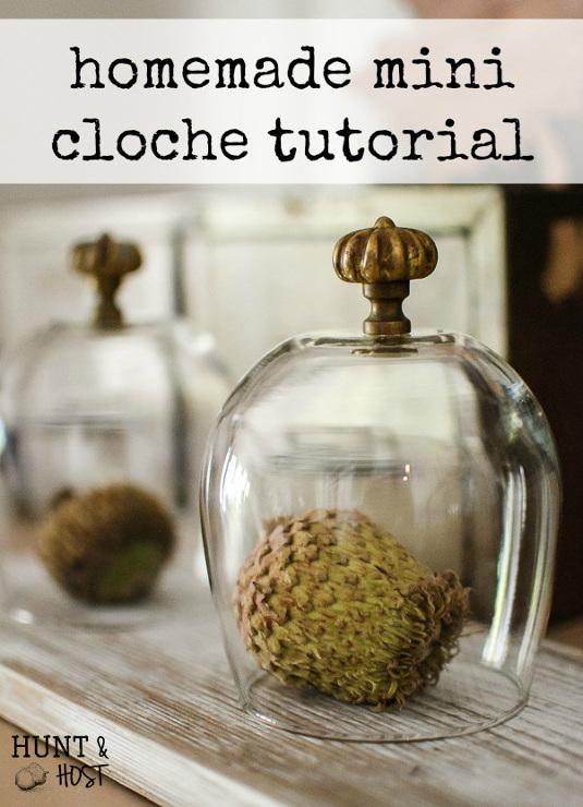Homemade Mini Cloche