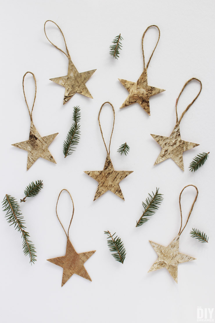 Quick and easy christmas decorations to make birch Easy christmas decorations to make at home