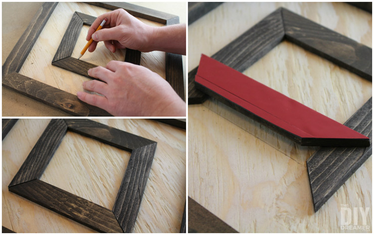 How to determine where to attach wood detailing on design