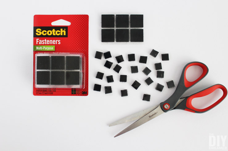 How to cut Scotch Multi-Purpose Fasteners into smaller pieces