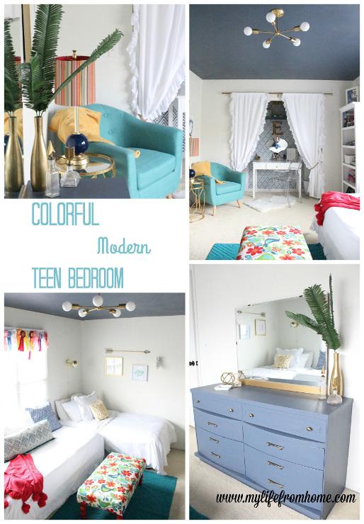 Modern Teen Hangout Bedroom