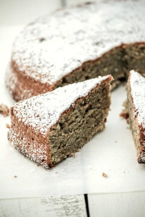 Rustic Chestnut Cake