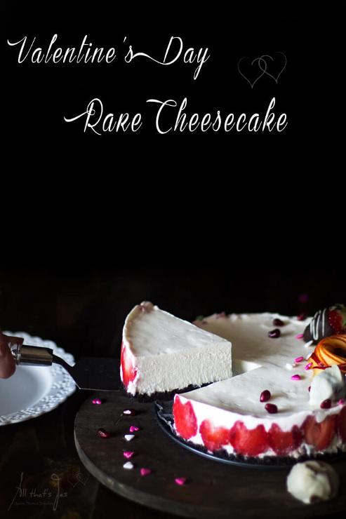 Rare Cheesecake for Valentine's Da