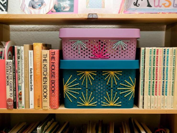 DIY Stylish Stitched Storage