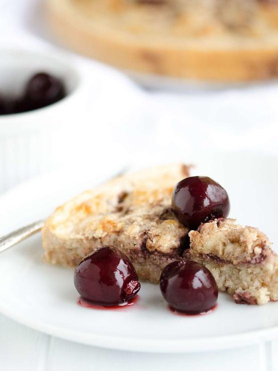 Black Cherry Breakfast Cake