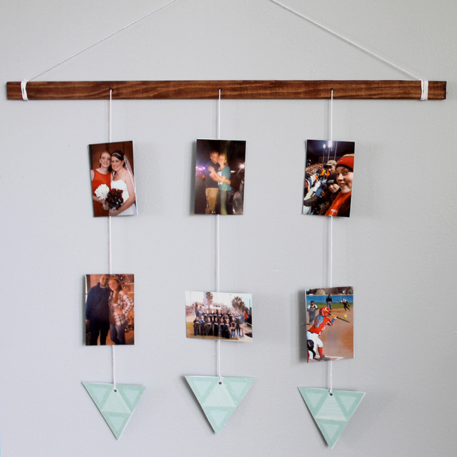 DIY Picture Hanger
