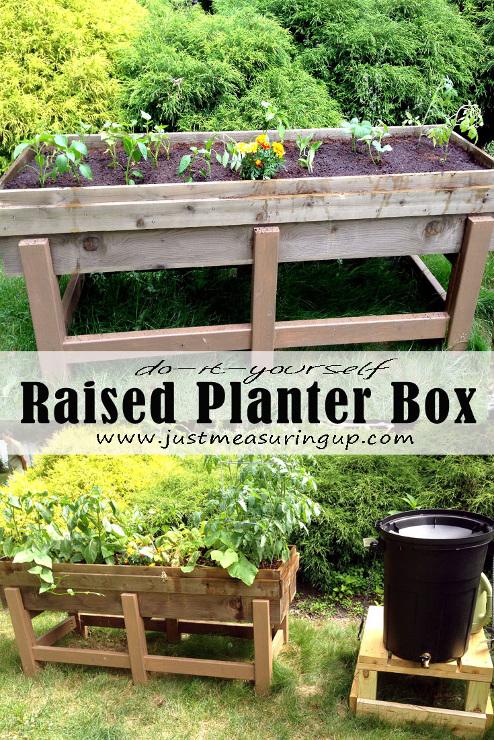 Making a DIY Planter Box for the Garden