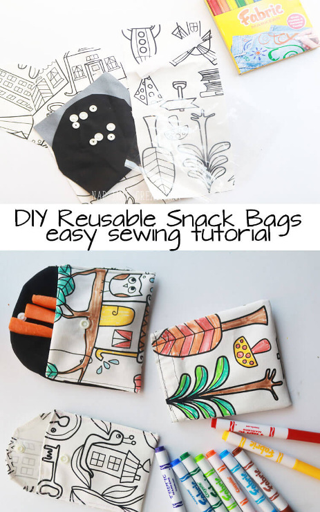 Reusable Snack Bags for Healthy Snacking