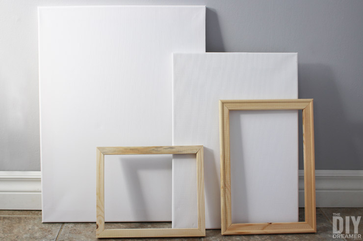 how to make cheap wood frames