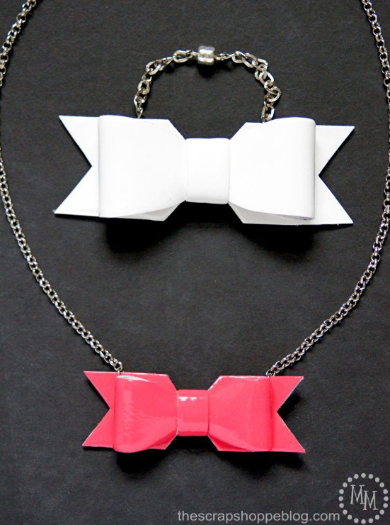 Patent Leather Bow Jewelry