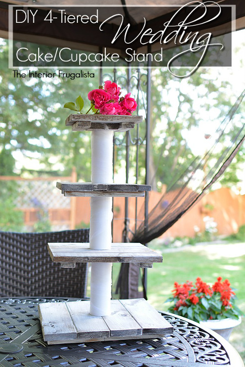 diy tiered wedding cake stand let s get crafting and diying inspiring projects and more 13625