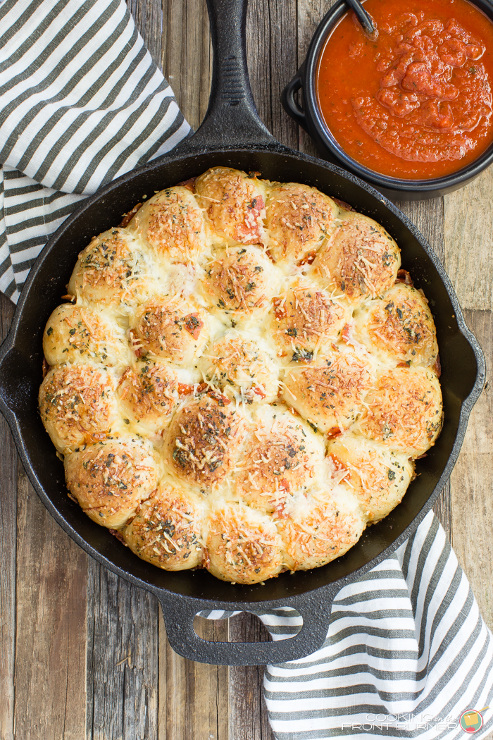 Pull Apart Pizza Rolls Recipe