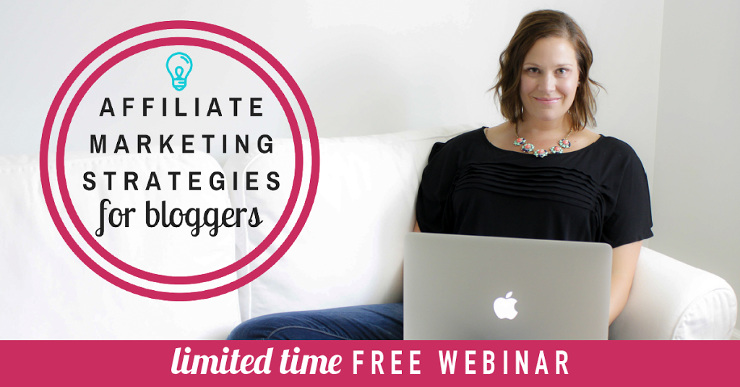 Free Training Affiliate Marketing Strategies for Bloggers - Webinar