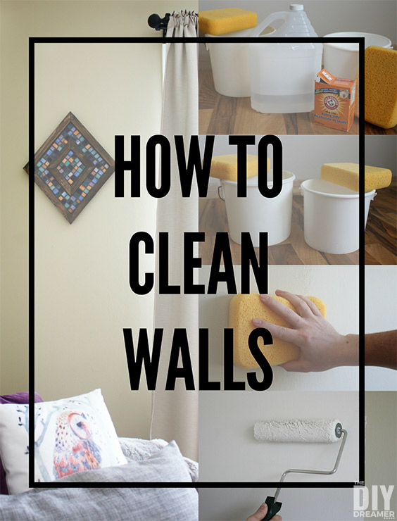 How to clean walls preparing walls for painting for Clean walls before painting