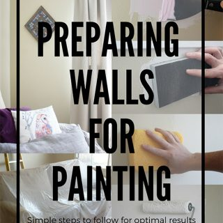 Preparing walls for painting is really important. Follow these simple steps for optimal painting results.