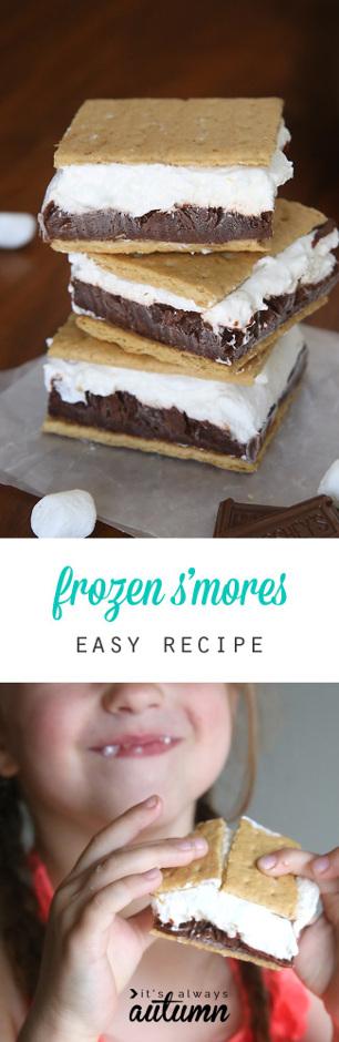 Frozen Smores Easy Recipe